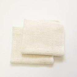 画像1: 和紡布洗顔クロス2枚組