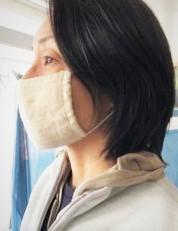 画像2: 洗って繰り返し使えるヘンプのマスク